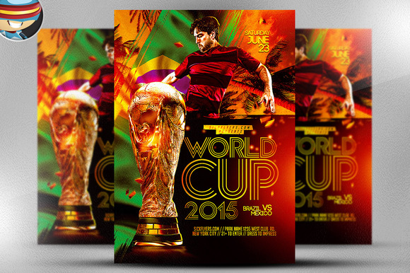 World Cup Flyer Template 2