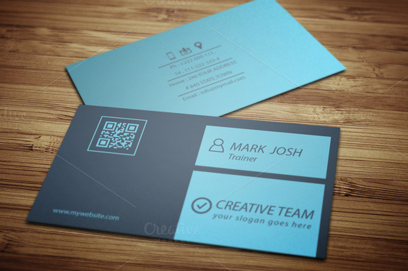 Creative Team Business Card