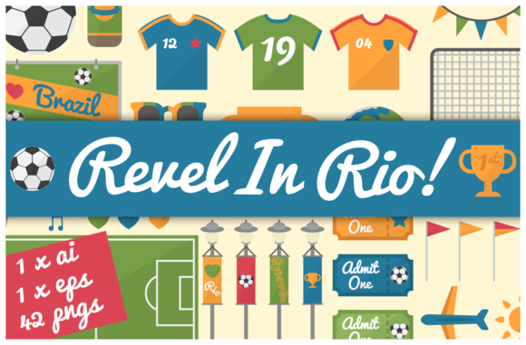 Revel In Rio 42 World Cup Doodles