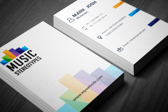 Music Studio Business Card