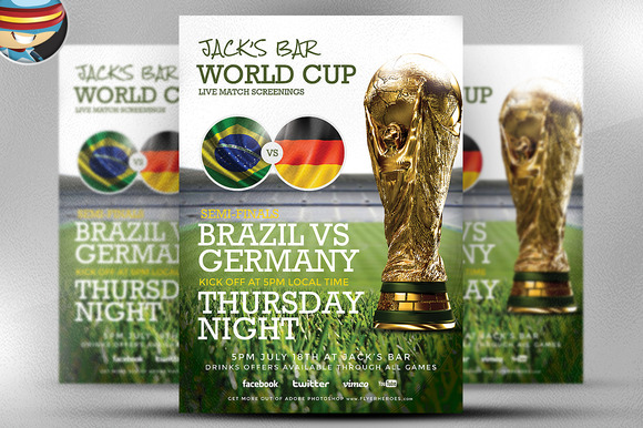Soccer Flyer Template 2