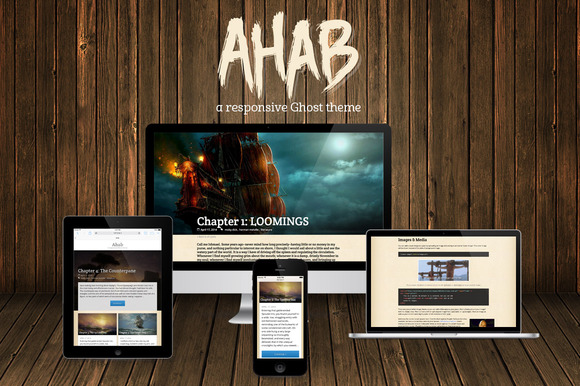 Ahab Responsive Ghost Theme