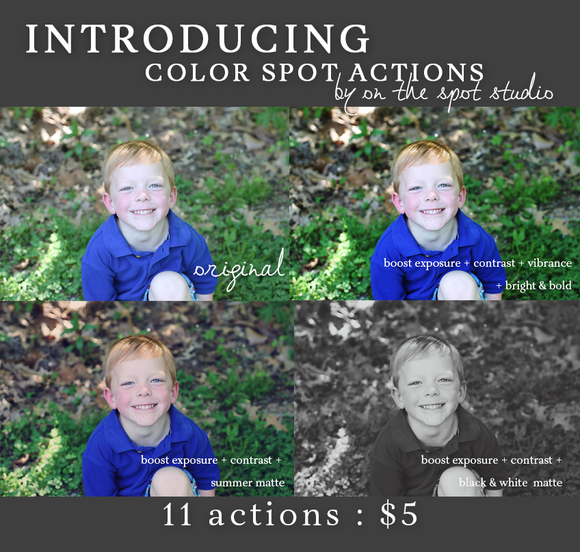 Color Spot Actions