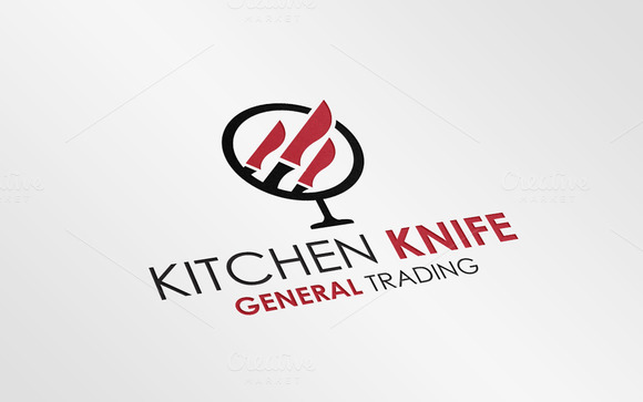 Kitchen Restaurant Logo Template