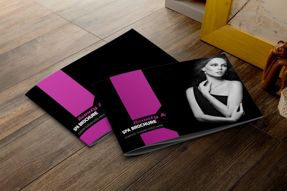 Fashion Beauty Brochure Template