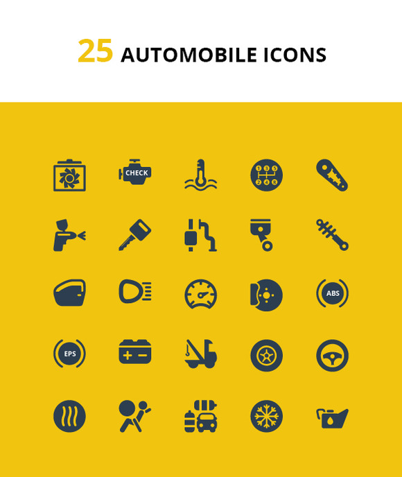 Auto Finance-Buss Medical Icons