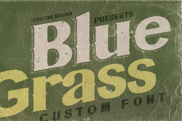 Bluegrass Font