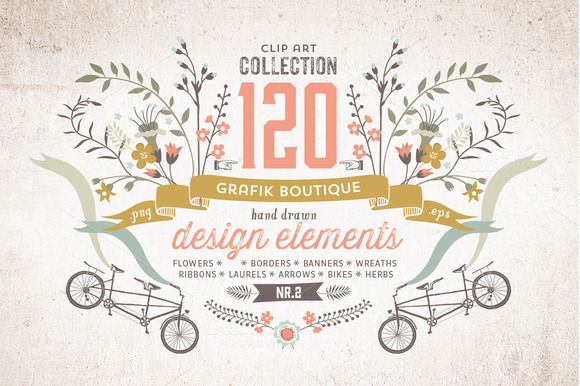 Graphic Elements More Than 120