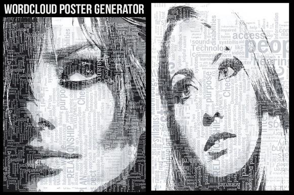 WordCloud Poster Generator
