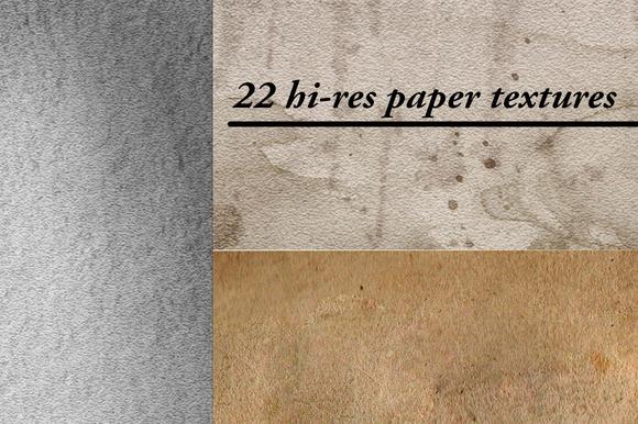 22 Paper Textures
