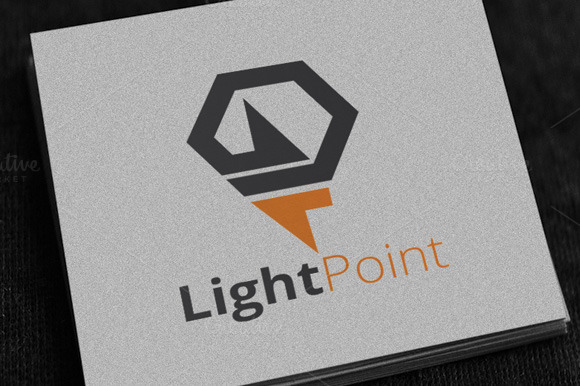 Light Bolt Logo Template