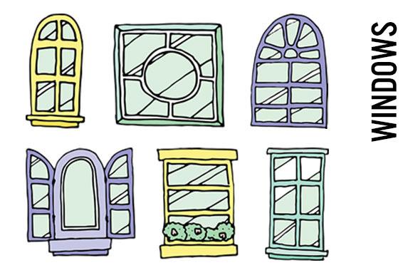 Windowsill Clip Art PNGs
