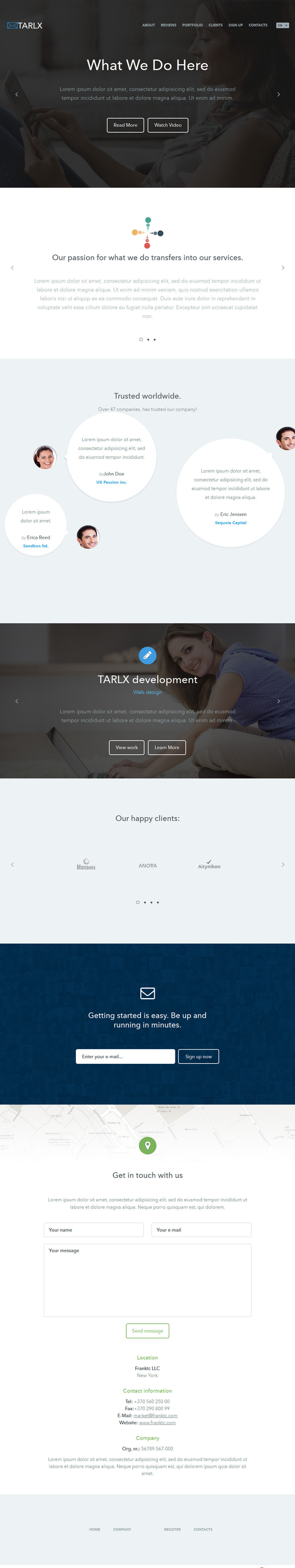Tarlx Marketing HTML Theme
