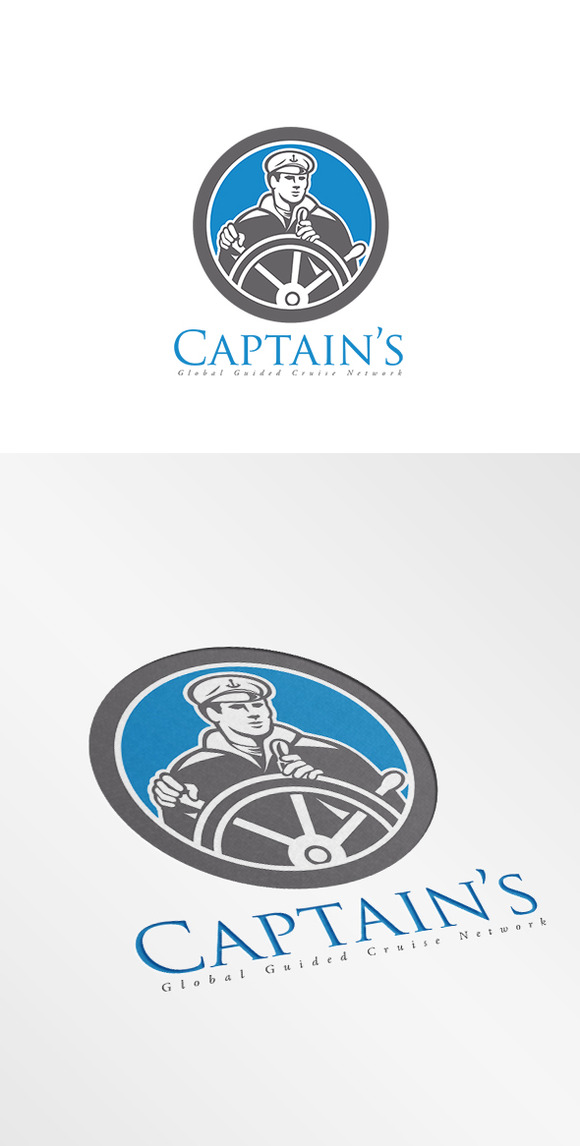 Captain Global Guided Cruise Logo