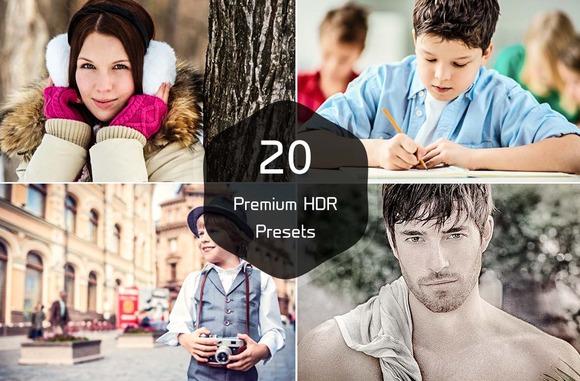 20 HDR Pro Lightroom Presets