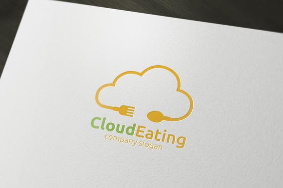 Cloud Eating Logo
