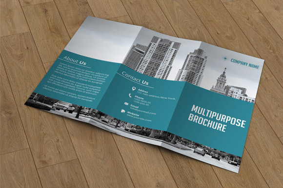 Trifold Business Brochure-V02