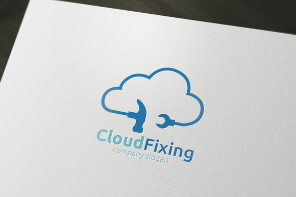 Cloud Fixing Logo
