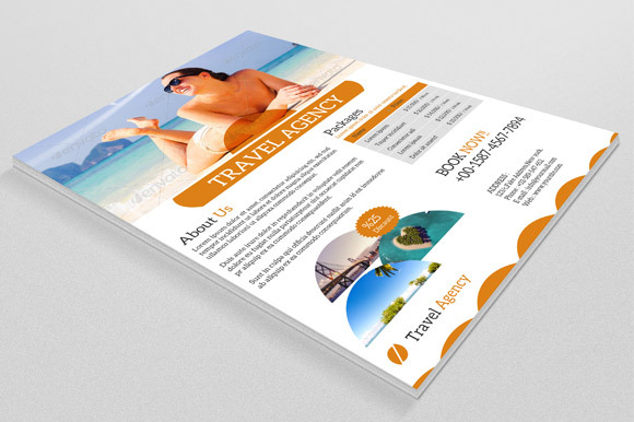 Travel Flyer Template-V01