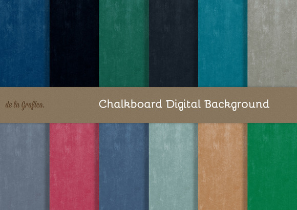 Chalkboard Digital Backgrounds
