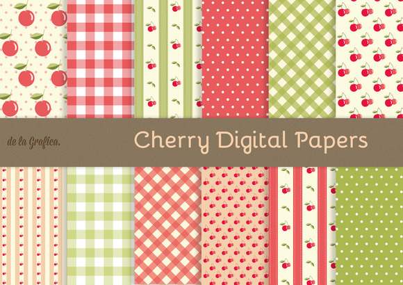 Cherry Digital Papers