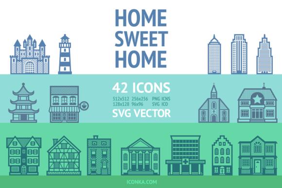 HomeSweetHome Icon Set