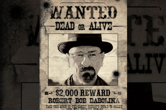 Old Western Poster Wanted