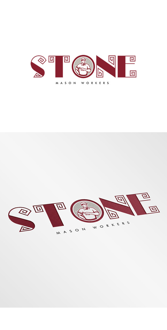 Stone Mason Workers Logo