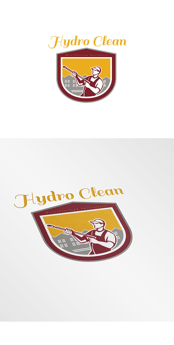 Hydro Clean Waterblasting Logo