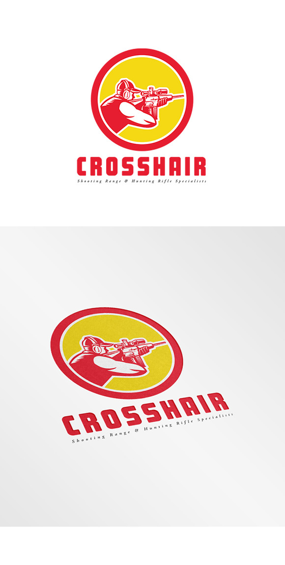 Crosshair Shooting Range Logo