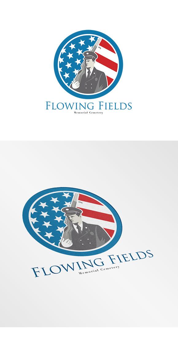 Flowing Fields Memorial Logo