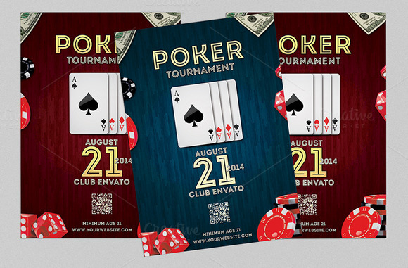 Poker Night Flyer Or Poster