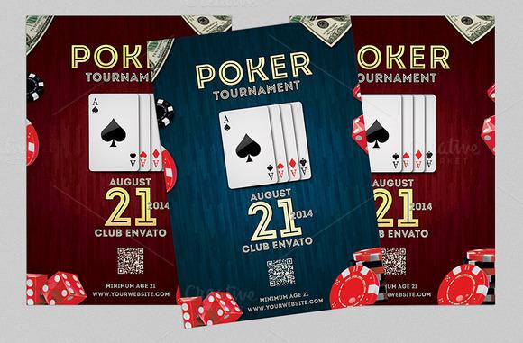 Poker Night Flyer Or Poster