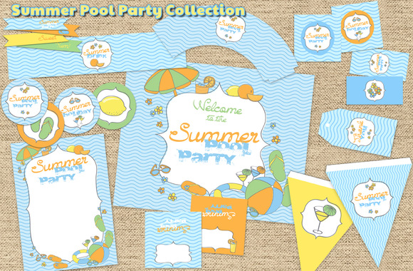 Summer Pool Party Collection