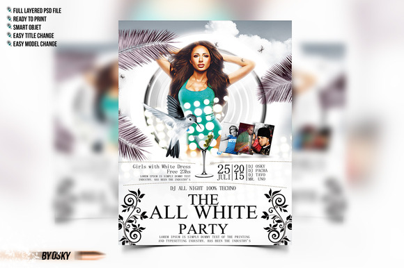The All White Party