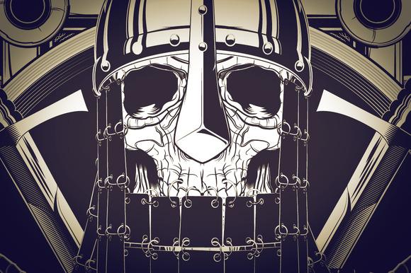 Black Templar Illustration
