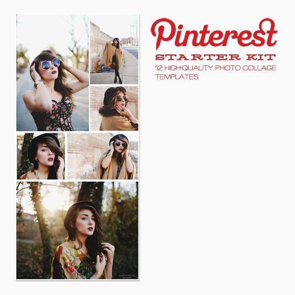 Pinterest Or Blog Templates 12pack