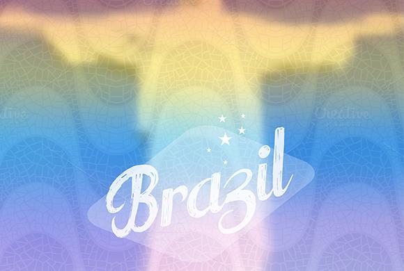 Brazil Monument Travel Background
