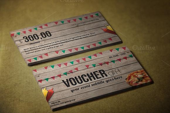 Fast Food Gift Voucher