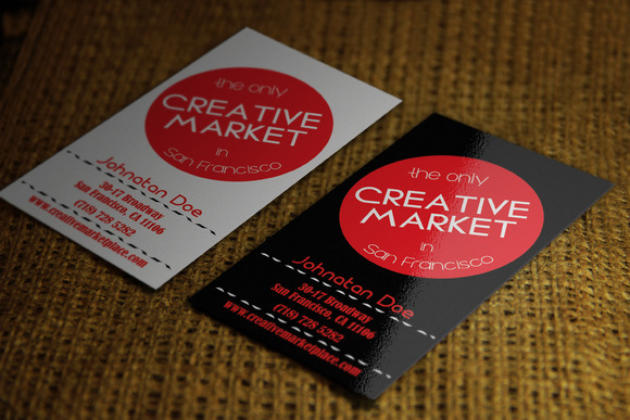 Creative Business Card 2 Styles