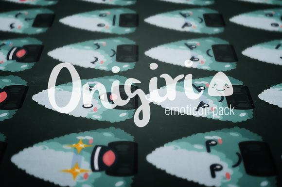 Onigiri Emoticon Pack