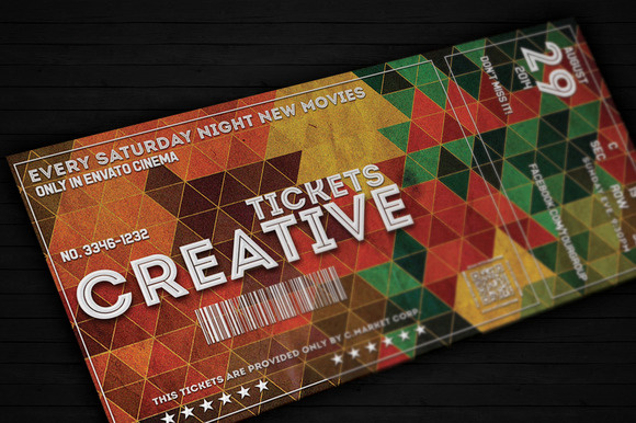 Creative Ticket 01