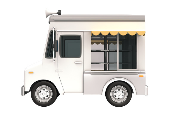 Food Truck White