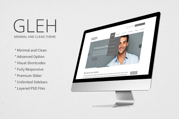 Responsive Minimal Clean WP Theme