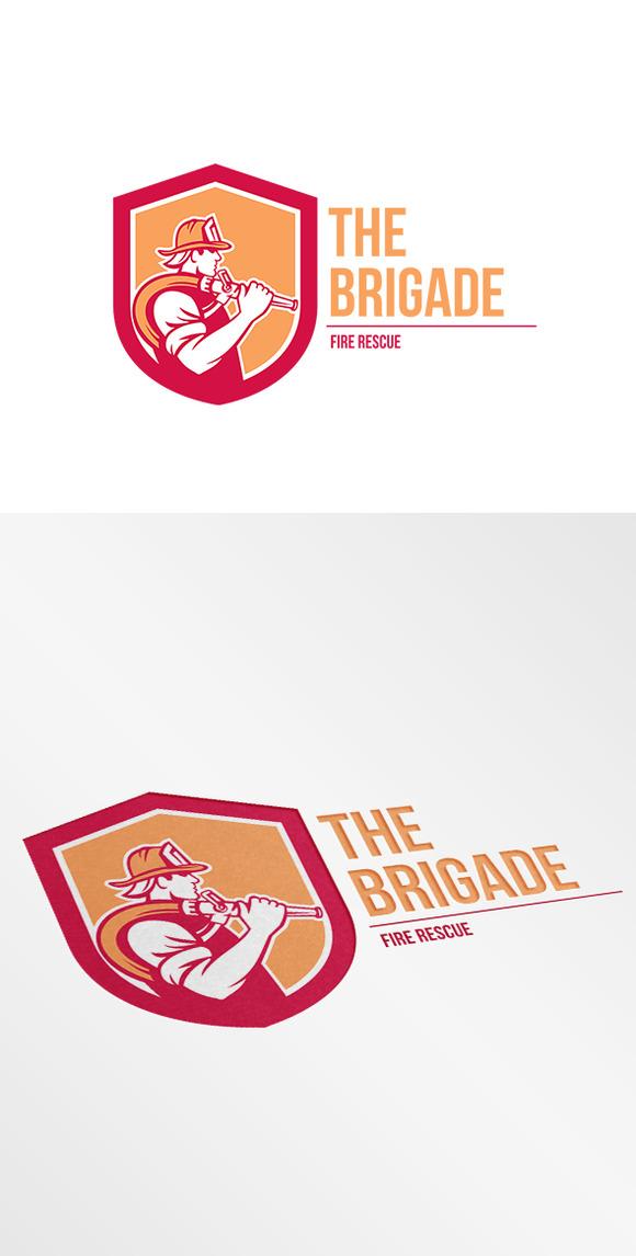 The Brigade Fire Rescue Logo