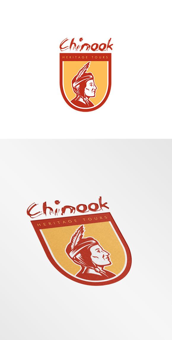 Chinook Heritage Tours Logo
