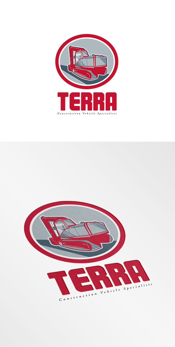 Terra Construction Vehicles Logo