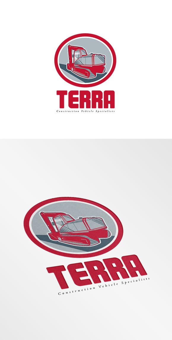 Terra Construction Vehicles Logo