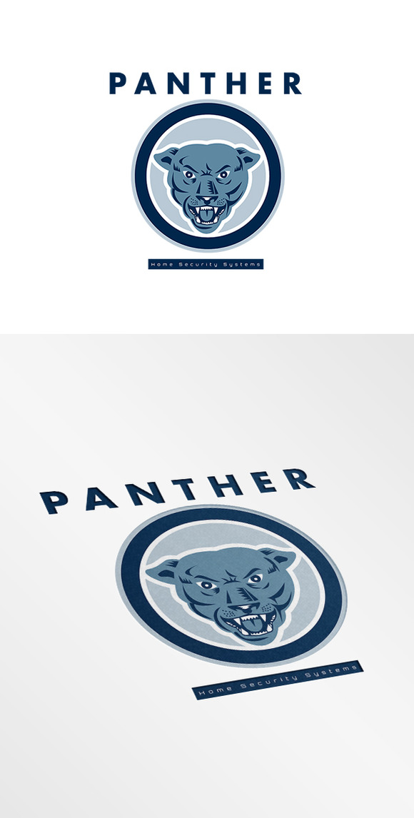 Panther Home Security Systems Logo