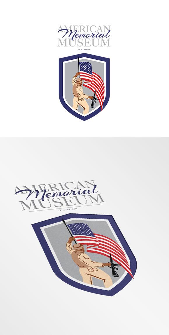 American Memorial Museum Logo
